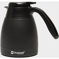 Outwell Aden 0.6 Litre Vacuum Flask, BLK/BLK