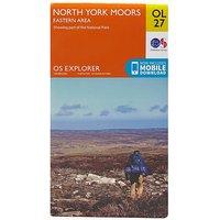 Ordnance Survey Explorer OL 27 North York Moors Map (Eastern Area), D/D