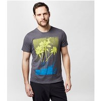 PROTEST Men's Maycomb T-Shirt, DGY/DGY