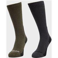Bridgedale Men's Dingle Sock Multipack, KHK/KHK