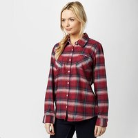 BRAKEBURN Women's Check Flannel Shirt, DRD/DRD