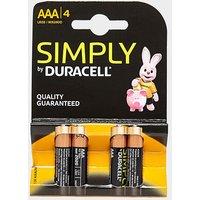 DURACELL AAA Batteries, 2400/2400