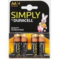 DURACELL AA Batteries, 1500/1500