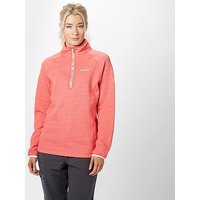 Craghoppers Women's Zoe Half-Zip Fleece, Pink