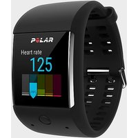 Polar M600 Heart Rate GPS Sports Watch, Black