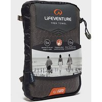 Lifeventure Hydro Fibre UltraLite Travel Towel XL, Black/Black