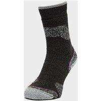 BRASHER Women's Trekker Plus Socks, PUR/PUR