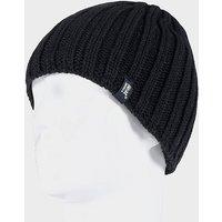 HEAT HOLDERS Men's Chunky Rib Hat, BLK/BLK