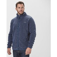 BRAKEBURN Men's Full-Zip Fleece, NVY/NVY