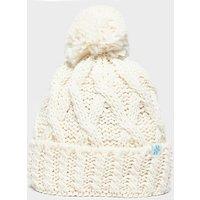 Alpine Women's Chunky Bobble Hat, CRM/CRM