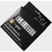 HI-GEAR 12 x Fuel Sticks for Pocket Handwarmer, BLACK/RODS