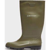 Dunlop Pricemaster Wellington Boots, GREEN/WELLINGTON