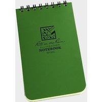 """RITE Pocket Notebook (3"""" x 5""""), GREEN/5"""