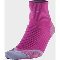 Nike Elite Running Cushion Quarter Socks, SOC/SOC