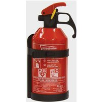 STREETWIZE 1kg Dry Powder BC Fire Extinguisher, Red/Black