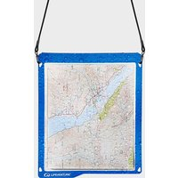 Lifeventure Hydroseal Waterproof Map Case - Blue/Case, BLUE/CASE