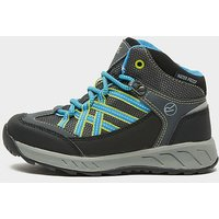 Regatta Kids' Samaris Mid Walking Boots, Black/Blue