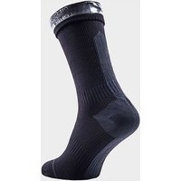 Sealskinz Hydrostop Mid Length Waterproof Socks, SOC/SOC