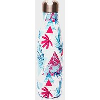 HANDY HEROES Abstract Leaf Stainless Steel Flask (470ml), FLASK/FLASK
