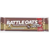 Battle Oats Protein Flapjack 70g (Dark Choc Chip), BROWN/CHI