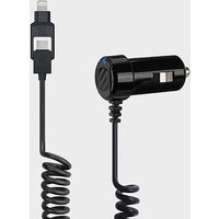 SCOSCHE StrikeDrive¶??¶ Smart 12W Car Charger, BLACK/CHARGER