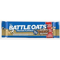 BATTLE OATS Protein Flapjack 70g (Double Choc Brownie), BROWNIE/BROWNIE