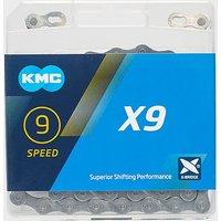 KMC Chains X9 MTB Chain, Grey/GREY