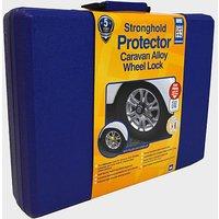 STRONGHOLD Protector Caravan Alloy Wheel Lock, NAVY/YELLOW