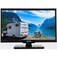 """Falcon 19"""" HD Travel TV with DVD, Freeview, Freesat, USB,, BLUE/BLUE"""