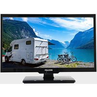 "Falcon 22"" HD Travel TV with DVD, Freeview, Freesat, USB,, BLACK/BLUETOO"