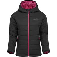 FreedomTrail BLISCO HOODED JACKET, BLACK/WMNS