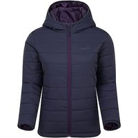 FreedomTrail BLISCO HOODED JACKET, NAVY/WMNS