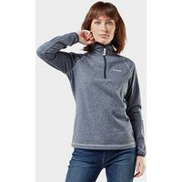 Craghoppers Women's Delacey Half-Zip Fleece, Navy/WMNS