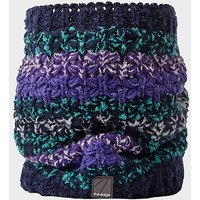 The Edge Women's Snow Flurry Neckwarmer, NAVY/WM