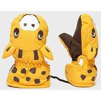 SNOWLIFE Kids' Animal Giraffe Mitts, ORN/ORN