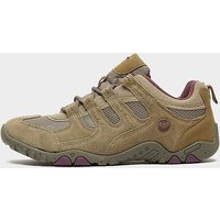 Hi Tec Women's Quadra Classic Walking Shoes, BROWN/TP/PU
