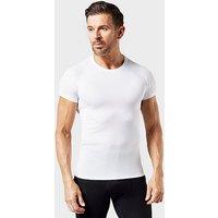 Odlo Men's Active Light Short Sleeve T-Shirt, WHT/WHT