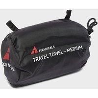 Technicals Suede Microfibre Travel Towel (Medium), GRN/GRN