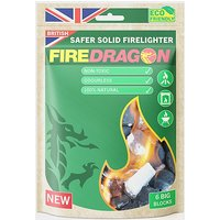 Fire Dragon Solid Fuel Blocks (6 Pack), Green/NO