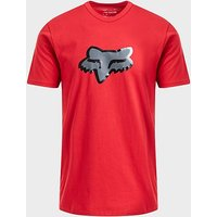 FOX Glassy Short Sleeve Premium Tee, RED/RED