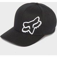 FOX Flex 45 Flexfit Hat, BLACK/WT
