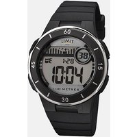 Limit LIM DIGITAL WATCH, BLK/WHT/BLK/WHT