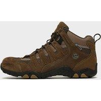 Hi Tec Men's Quadra Waterproof Mid Walking Boots, BRN/BRN