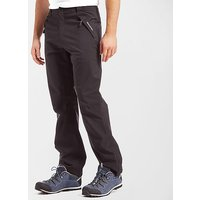 CRAGHOPPERS Men's Stefan Waterproof Trousers, Black