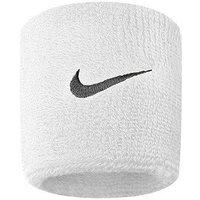 Nike 2 Pack Swoosh Wristband, WHITE