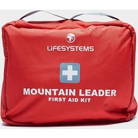 LIFESYSTEMS Mountain Leader First Aid Kit, Red