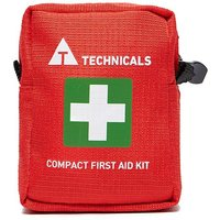 TECHNICALS Compact First Aid Kit, Red/RED