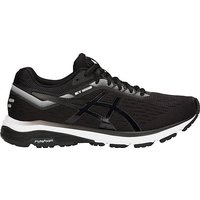 ASICS Men's GT-1000 7 Running Shoes, BLACK WHITE