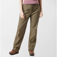 BRASHER Women's Stretch Trousers, Brown
