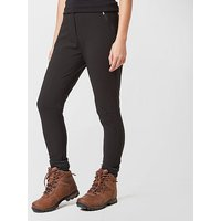 BRASHER Women's Walking Leggings, BLK/BLK